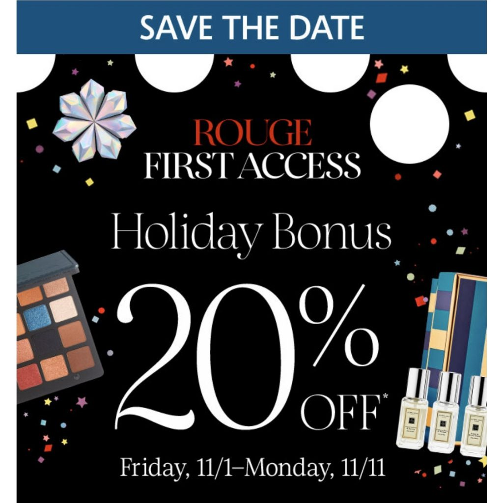 Sephora Holiday Bonus Sale